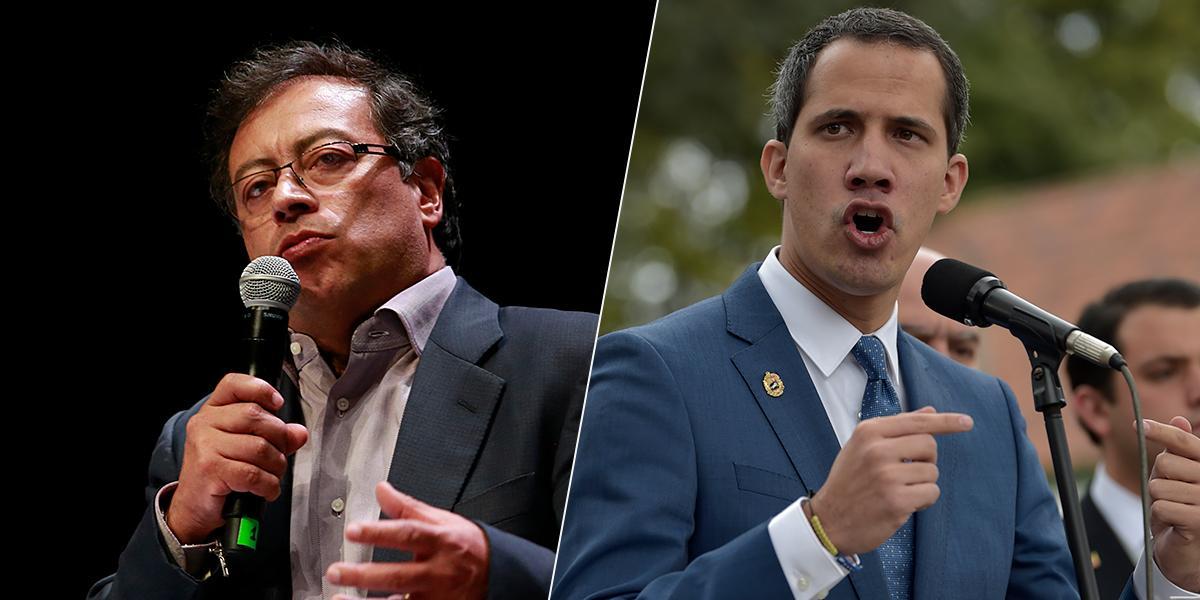 Petro exige pronunciamiento de la Cancillería por declaraciones de Guaidó en su contra