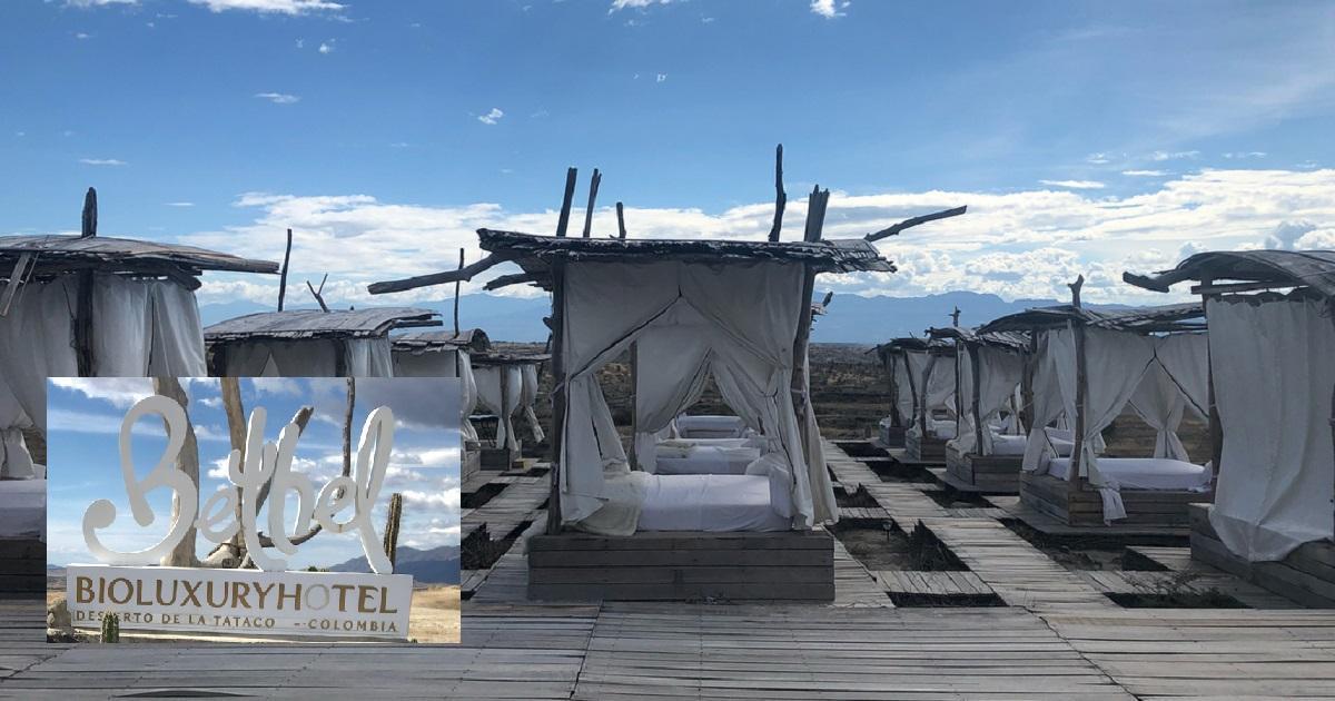 Ordenan demoler el exclusivo hotel Bethel Bio Luxury en el Desierto de La Tatacoa
