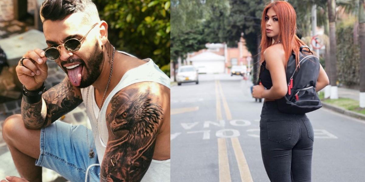¡Exclusivo! El tatuaje que Dahian le realizó a Tebi
