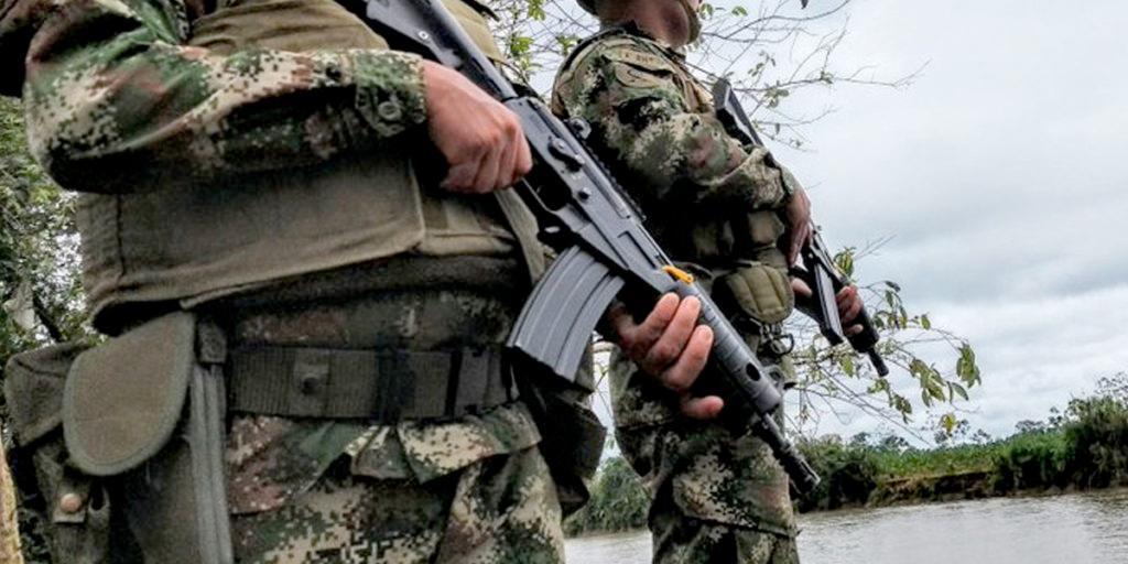 Ataque guerrillero deja al menos cuatro militares heridos en Tame, Arauca