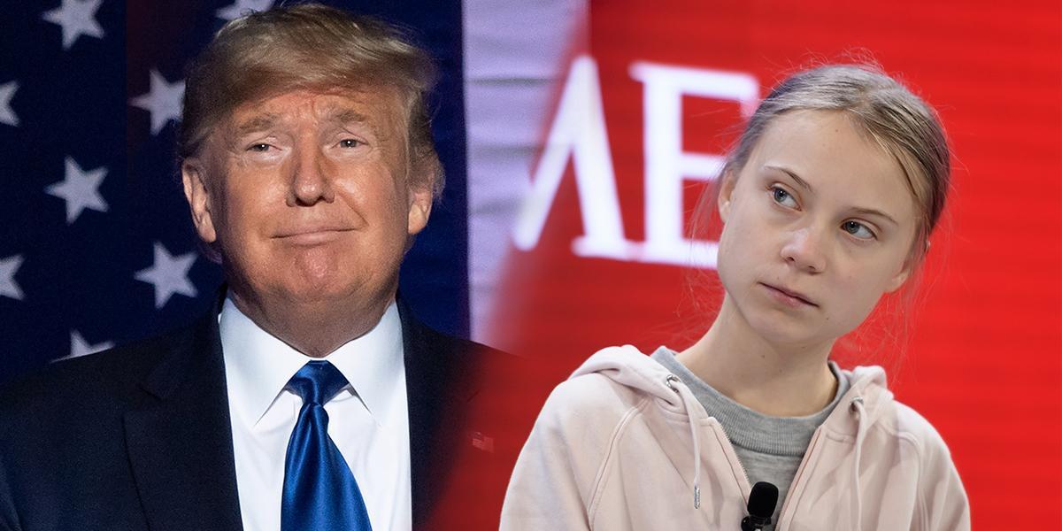 Trump dice que le «hubiera encantado» conocer a Greta Thunberg en Davos