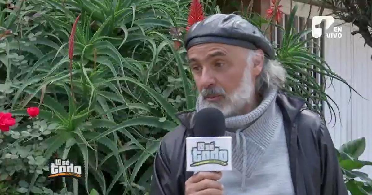Actor Julio Sánchez Cóccaro reaparecerá en pantalla, trabajando en su pasión