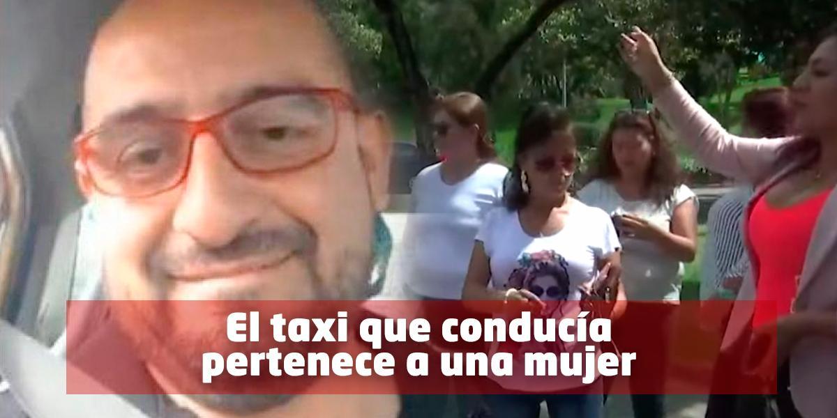 Empresa de taxis vetó a Freddy Contreras por ofender en videos a conductoras de Uber