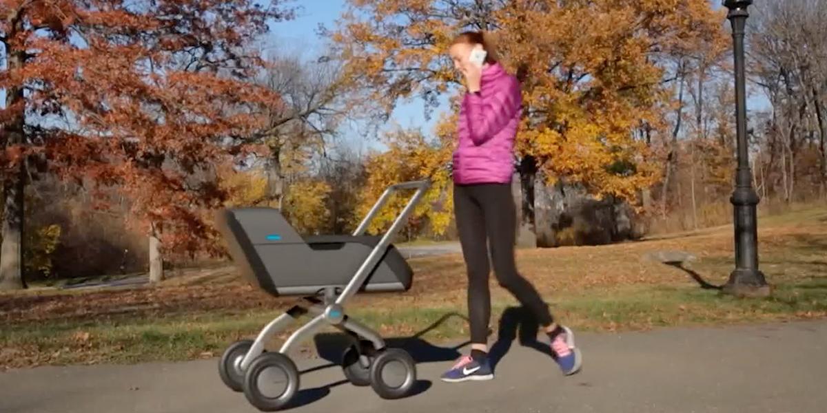 Smartbe: el nuevo coche inteligente para bebés
