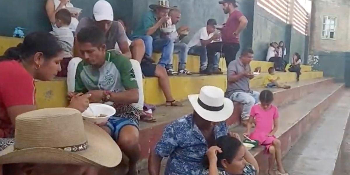 En Tarazá, 120 campesinos han sido desplazados