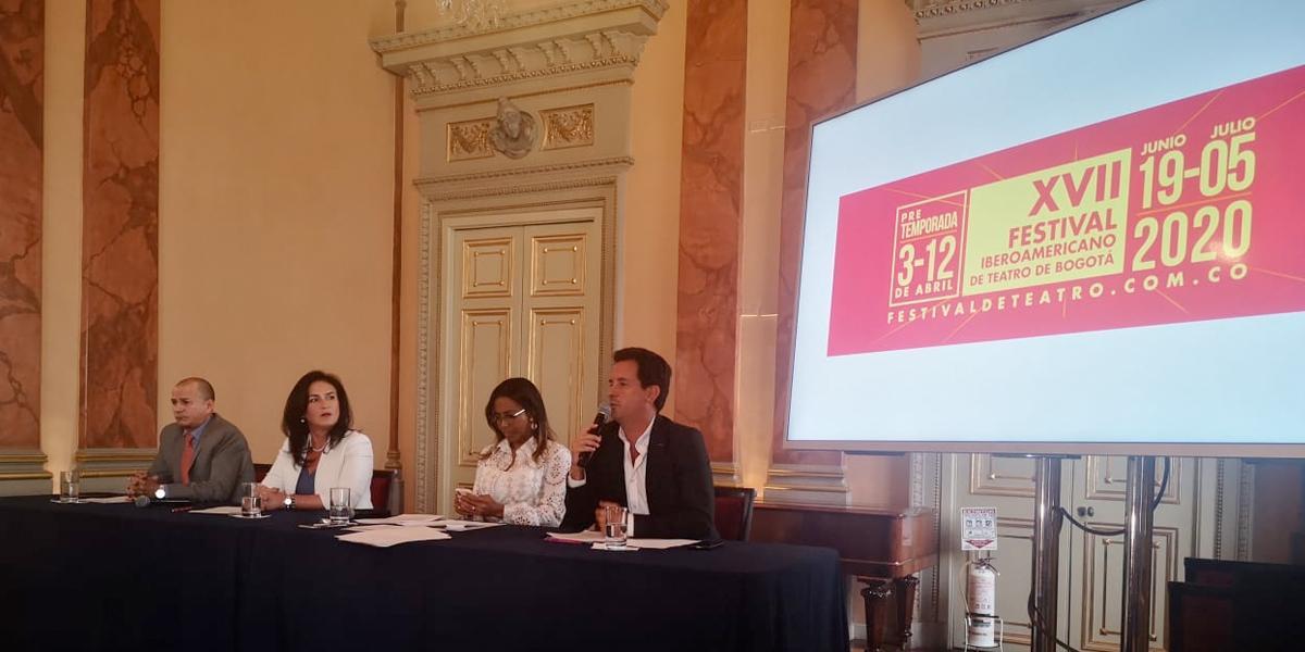 España, país invitado del Festival Iberoamericano de Teatro de Bogotá