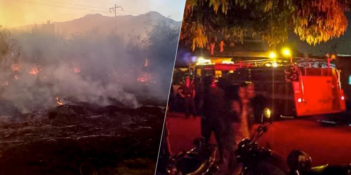 Al menos 10 muertos, entre ellos siete niños, en un incendio en Venezuela