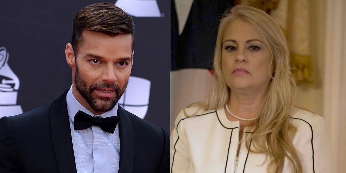 ¿Por qué Ricky Martin pide la renuncia de la gobernadora de Puerto Rico?