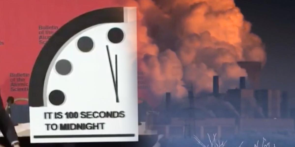 La humanidad está a 100 segundos de su fin, según el reloj del Apocalipsis