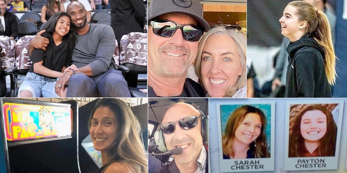 La historia de las otras víctimas del trágico accidente en el que murió Kobe Bryant