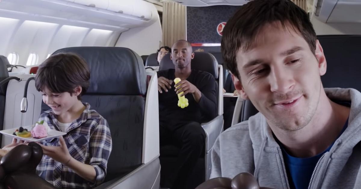 Tras trágico accidente, recuerdan con emoción el comercial de Kobe Bryant y Leo Messi