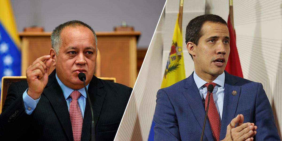 Cabello promete que no le pasará «nada» a Guaidó cuando vuelva a Venezuela