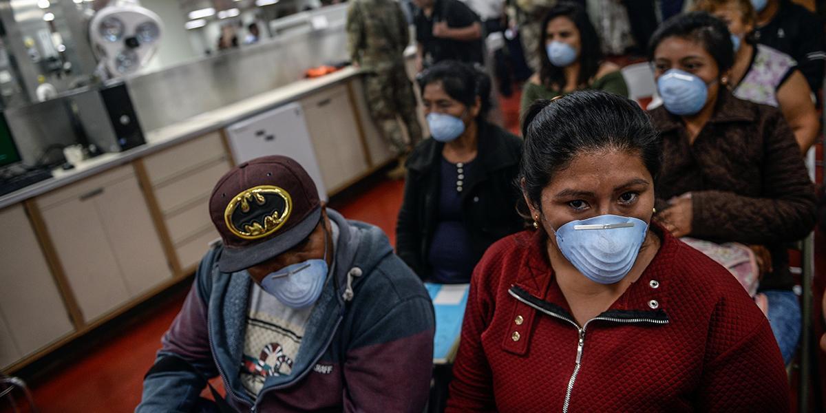 Primera alerta por coronavirus en Perú con cuatro casos sospechosos