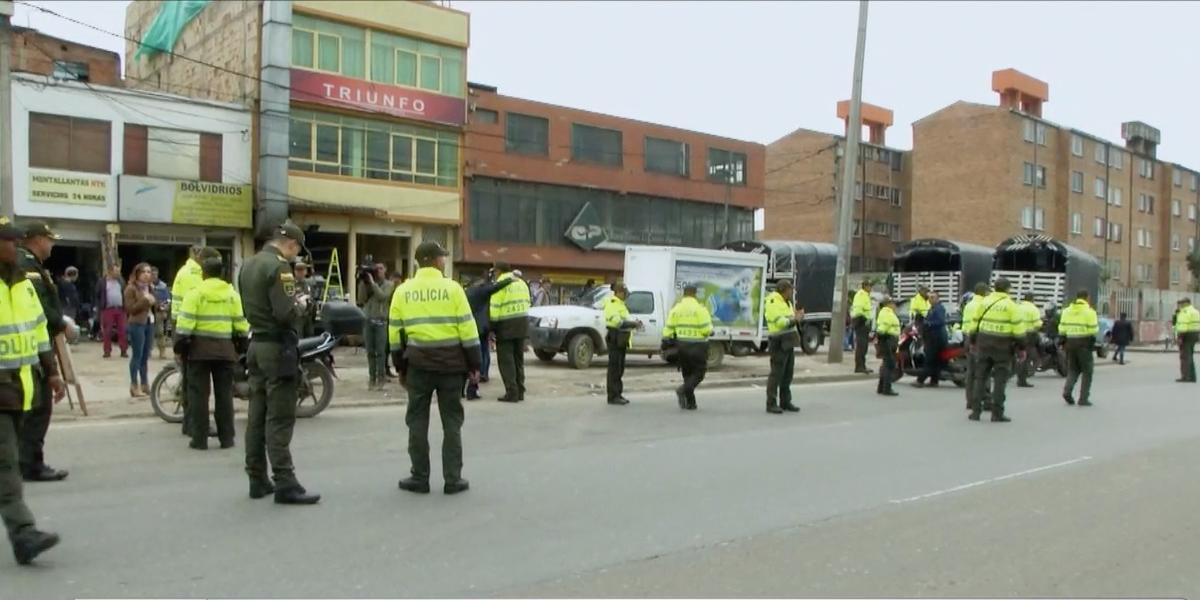 Alerta por presunto atentado terrorista en Bogotá