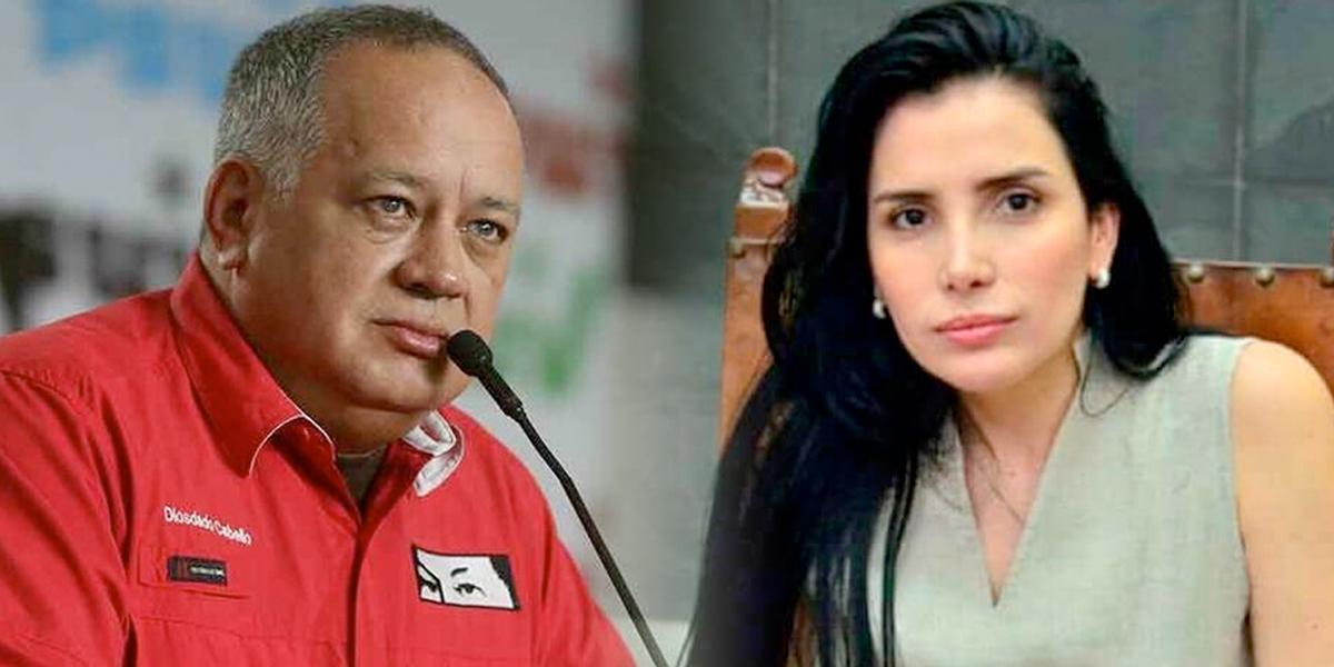 """Aída Merlano """"está hablando animadamente y le mandó saludos a Uribe"""": Diosdado Cabello"""