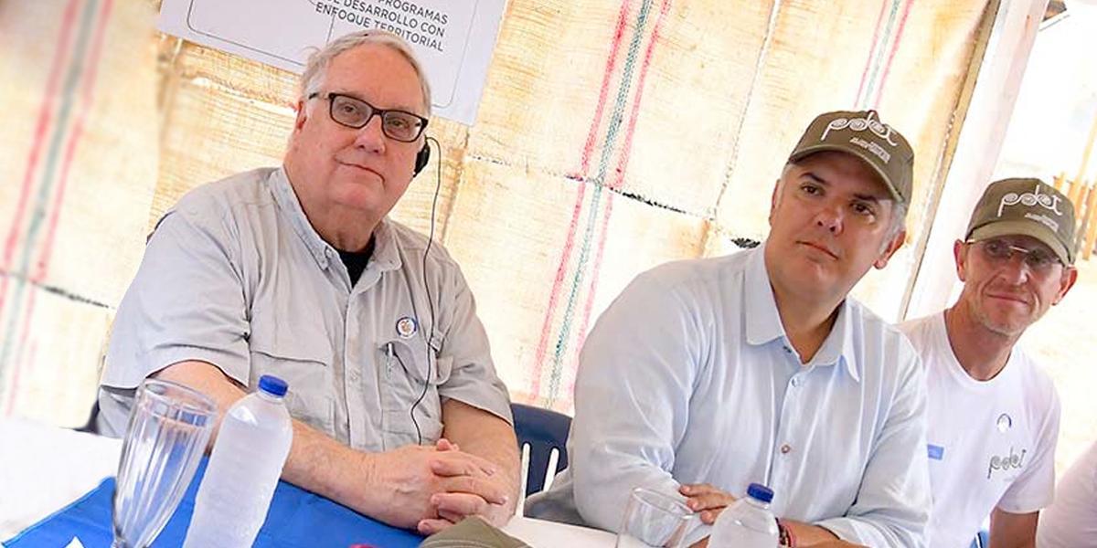 Howard Buffett dona 46 millones de dólares para vías de región del Catatumbo