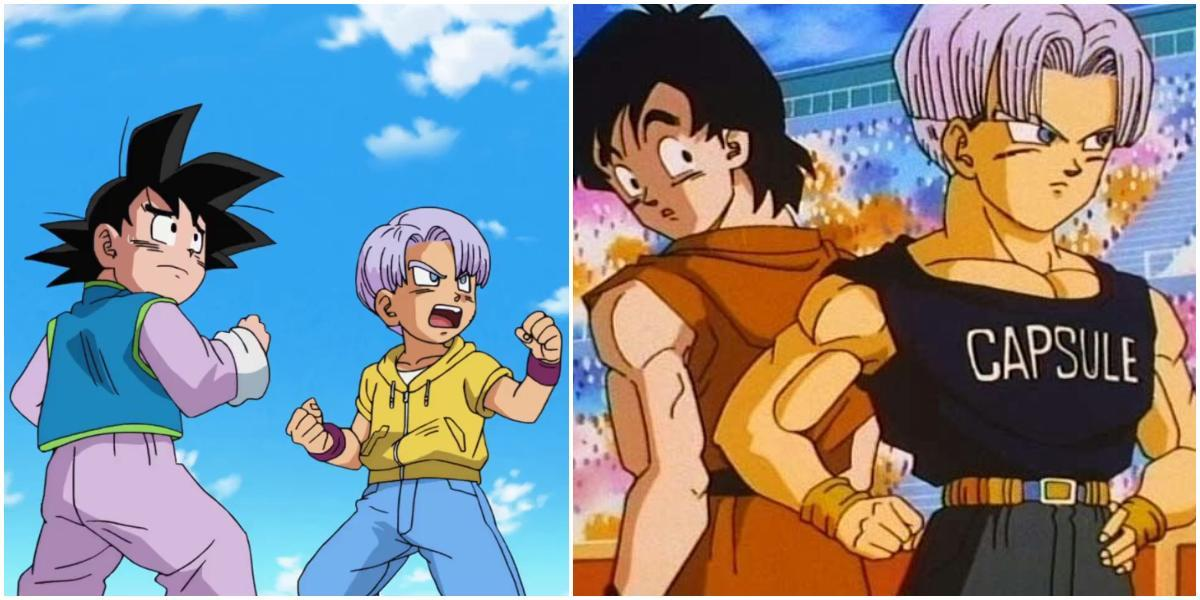 edad de goten y trunks dragon ball super