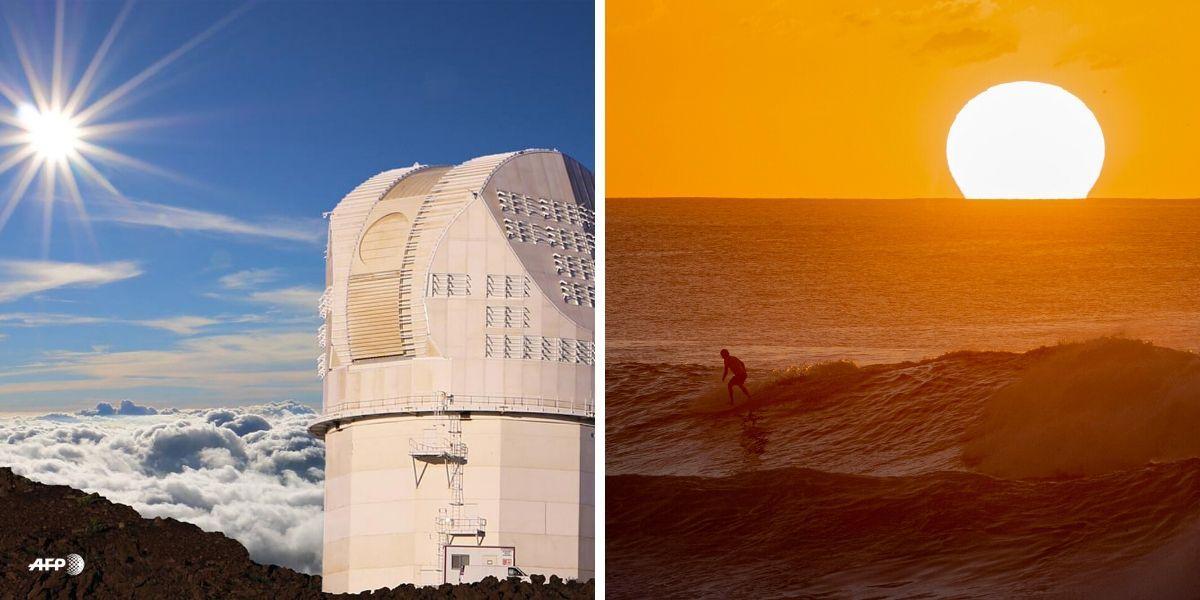 Fotografías del sol científicos