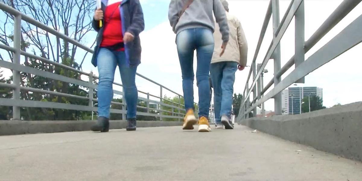 Esta es la lista de los puentes peatonales más inseguros de Bogotá