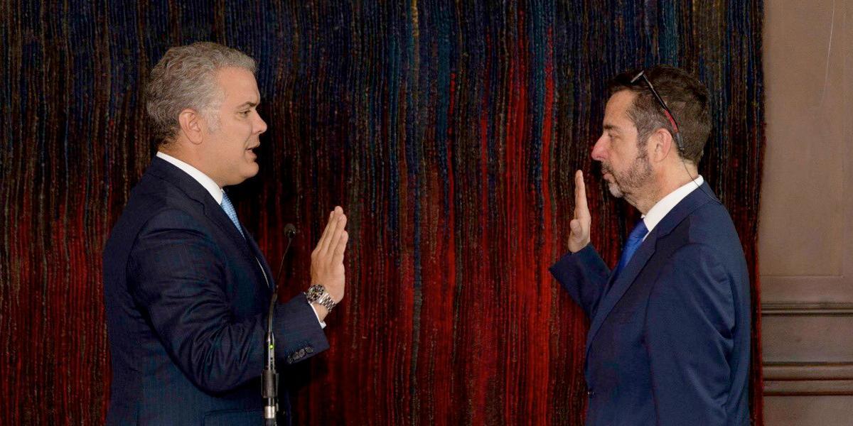 Presidente Duque posesionó al nuevo gerente de RTVC