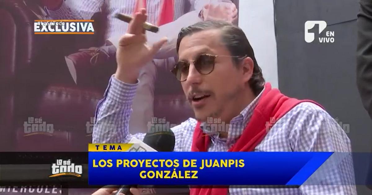 En entrevista exclusiva con Lo Sé Todo, 'Juanpis González' habla de sus proyectos para 2020