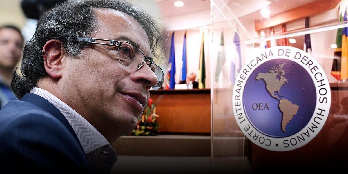 Audiencia en CIDH: Petro contra el Estado colombiano