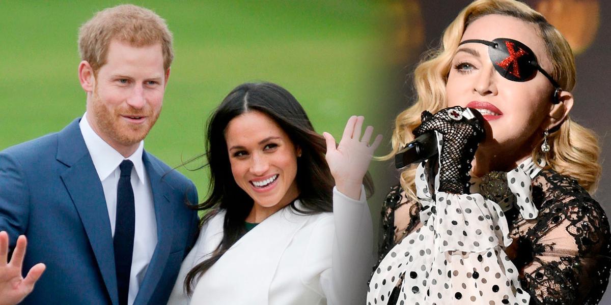 Insólita propuesta de Madonna a Harry y Meghan Markle