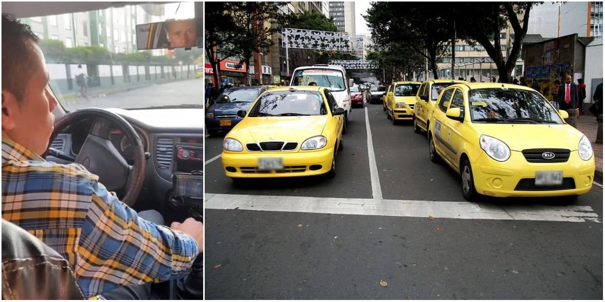 taxista por alla no voy video viral uber dia sin carro