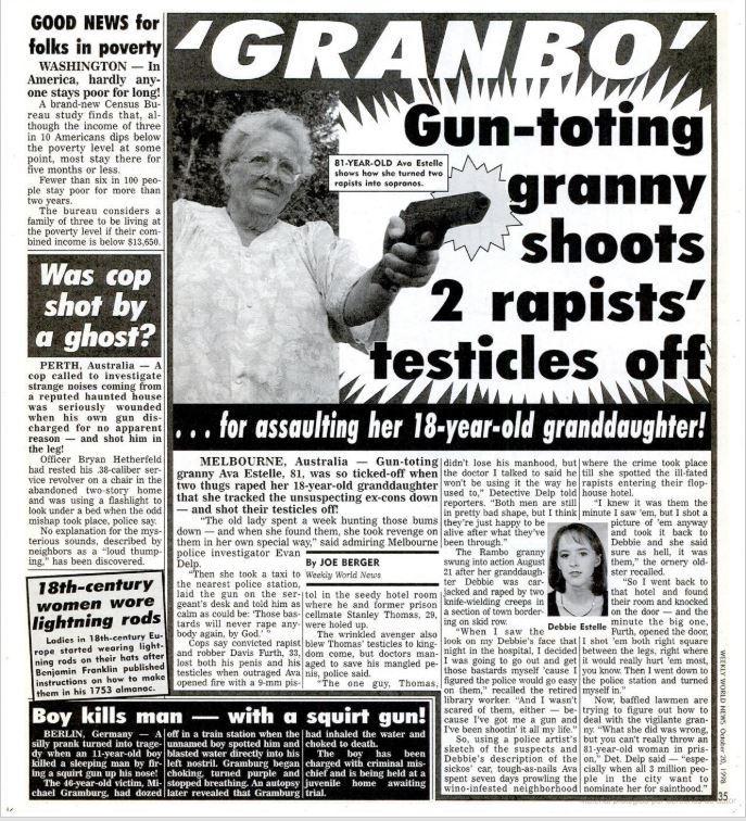 abuela vengadora publicacion original