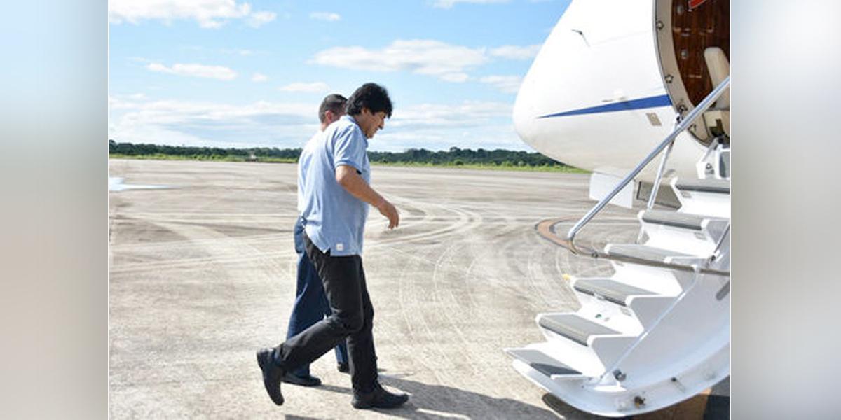 El expresidente boliviano Evo Morales viajó a La Habana, Cuba