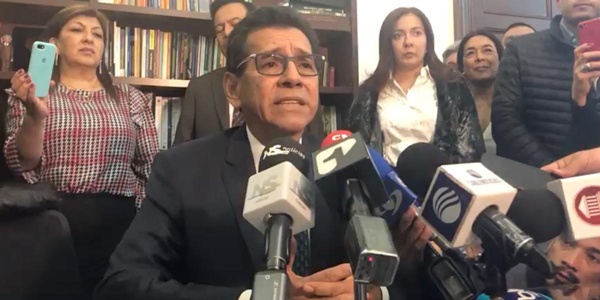 Profesor Jorge Guevara asume curul de Antanas Mockus en el Senado
