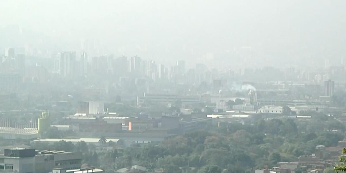 Inicia en Medellín estado de prevención de la calidad del aire