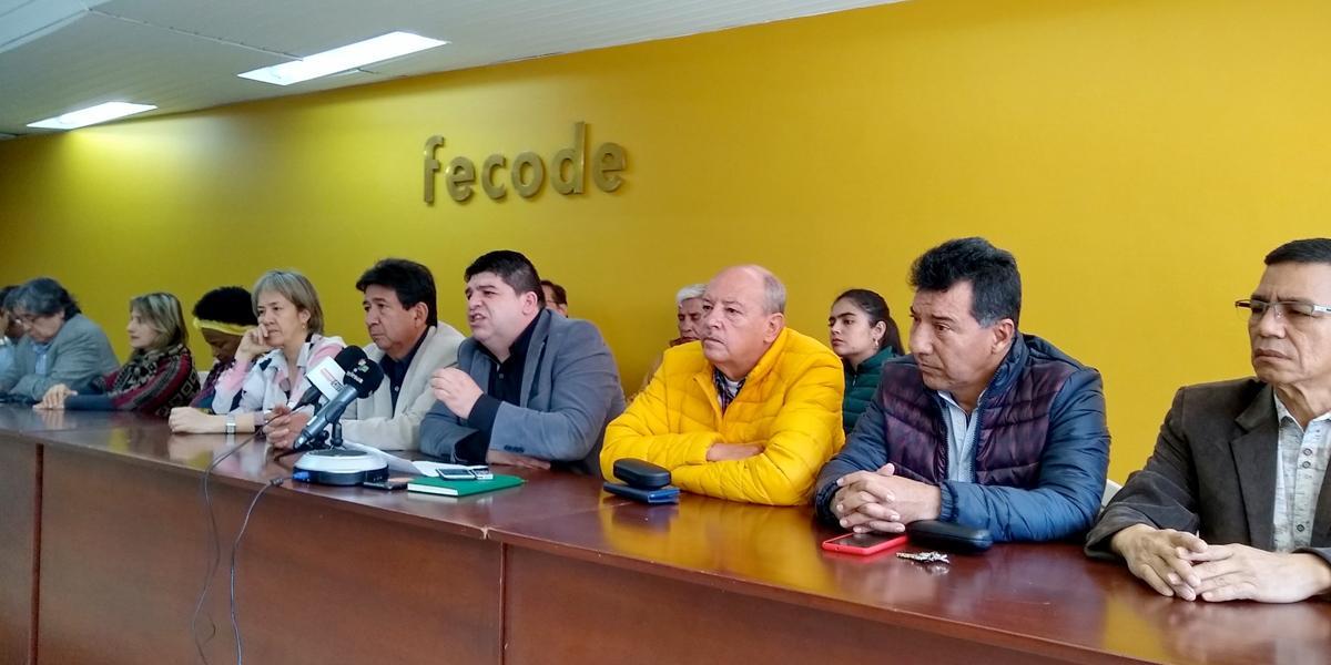 Fecode convoca a paro nacional de 48 horas el 20 y 21 de febrero