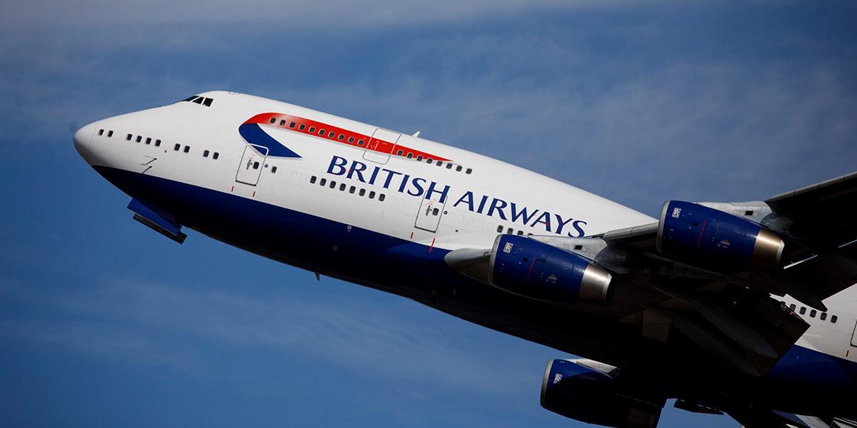 Cómo la tormenta que sacude a Europa, convirtió a un vuelo de British Airways en el más rápido de la historia