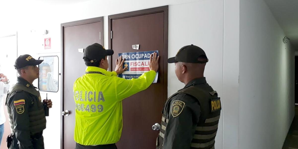 Ocupan bienes de alias 'Feroz' avaluados en 7.500 millones de pesos