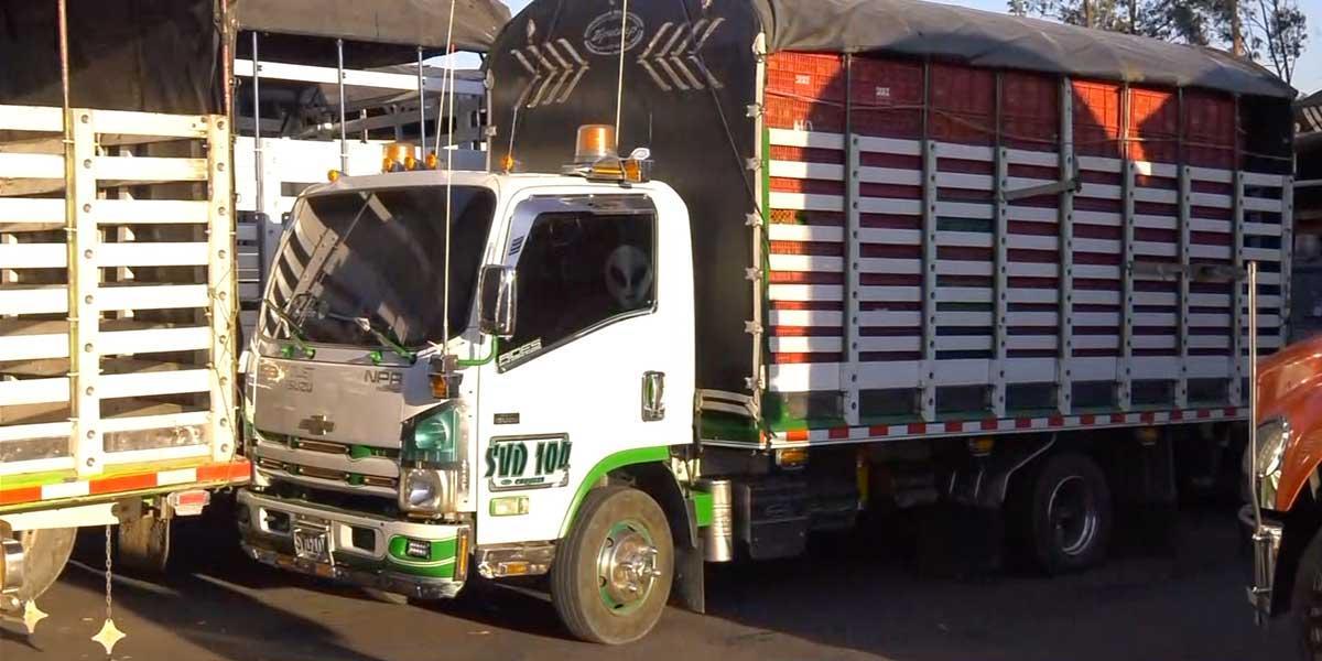 Camiones que transporten alimentos no tendrán restricción mientras estén cargados