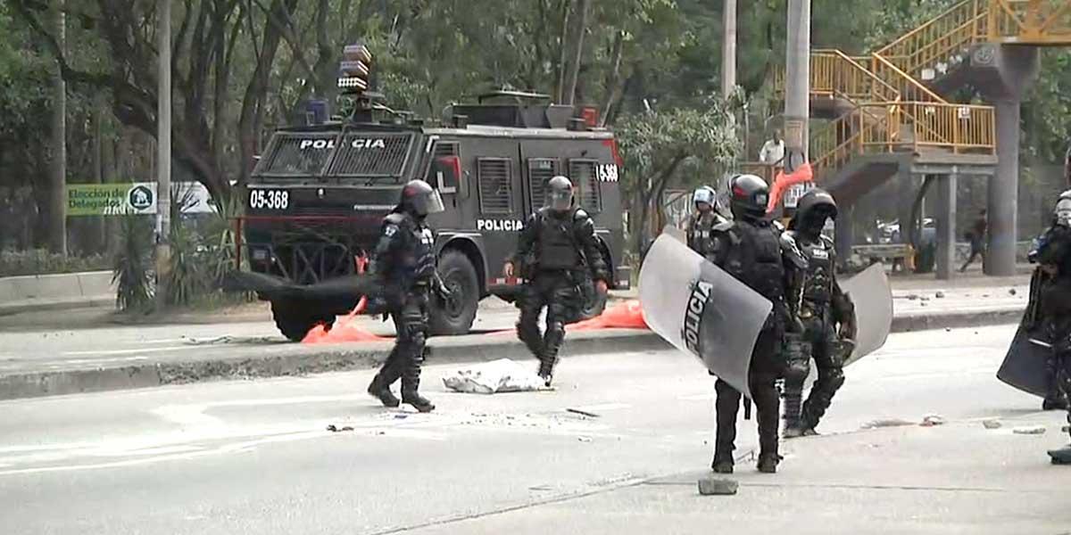 Se presentaron disturbios en la Universidad de Antioquia