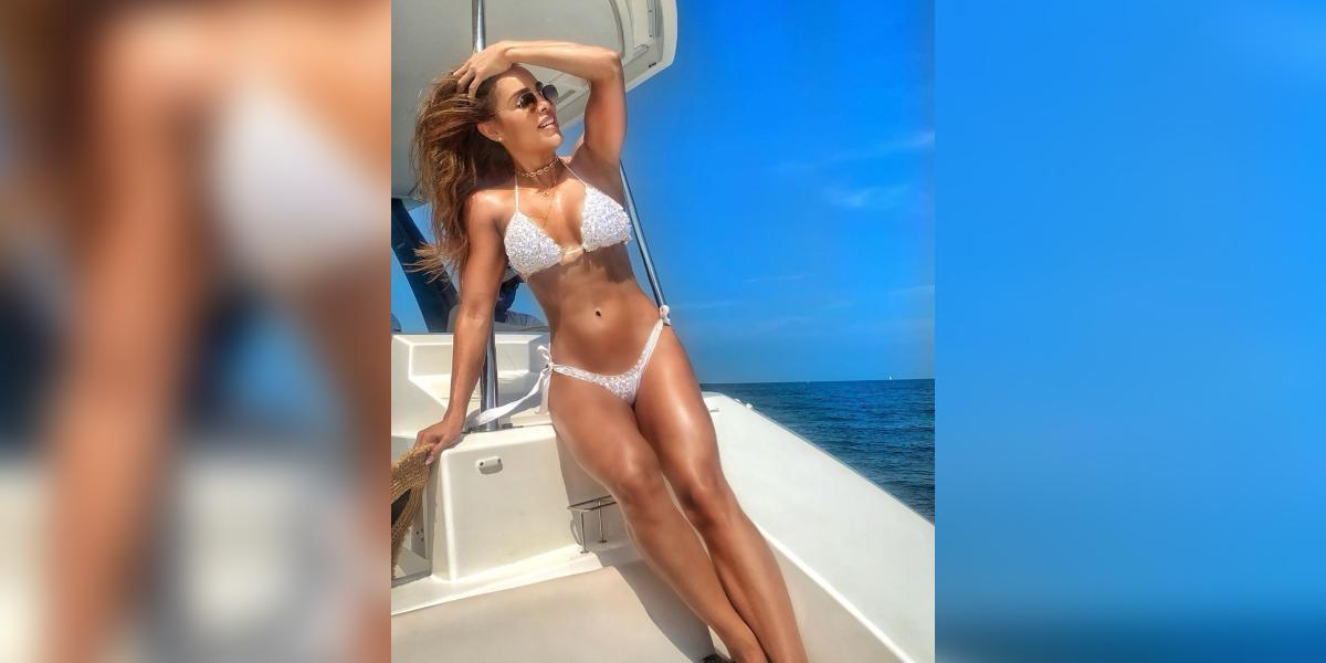 Sara Corrales en bikini / Foto: Instagram