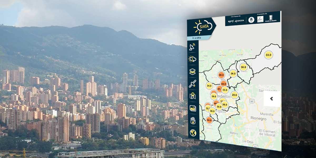 Declaran alerta naranja tras deterioro de la calidad del aire en Medellín