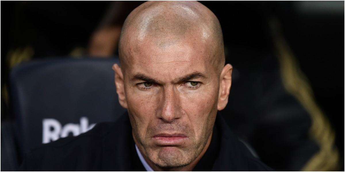 zinedine zidane tecnico del real madrid accidente de transito