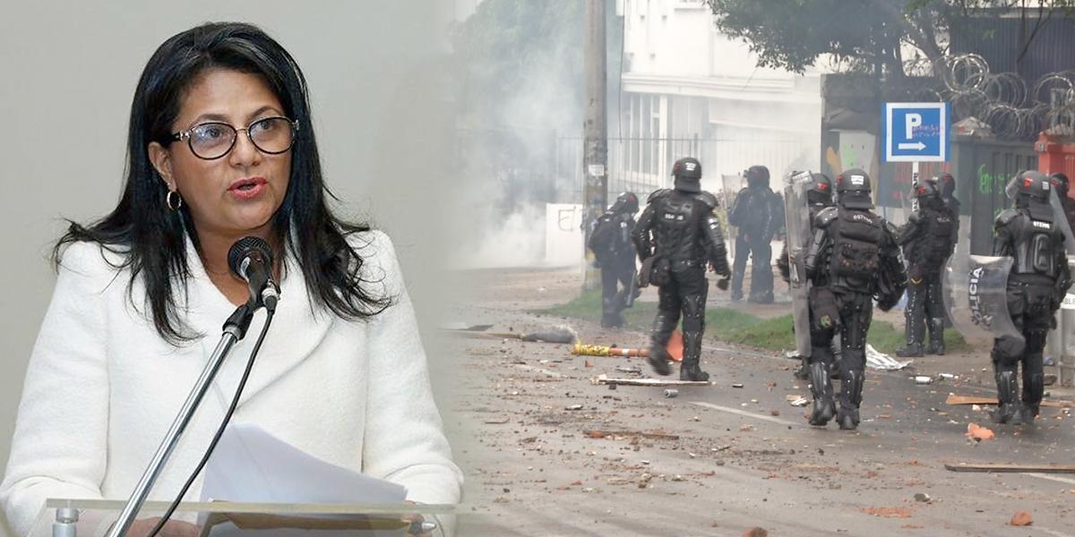 """""""Fuerza Pública está en mora de entrar a las universidades"""": personera distrital"""