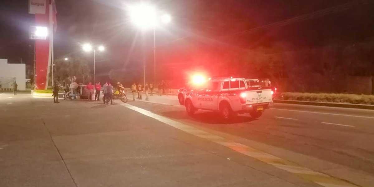 Se registró fuerte explosión en puente García Herreros de Cúcuta