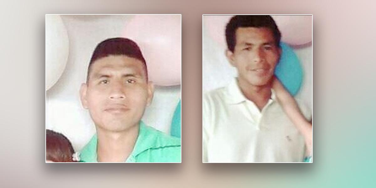 Asesinan a dos líderes campesinos en La Morena, Cauca
