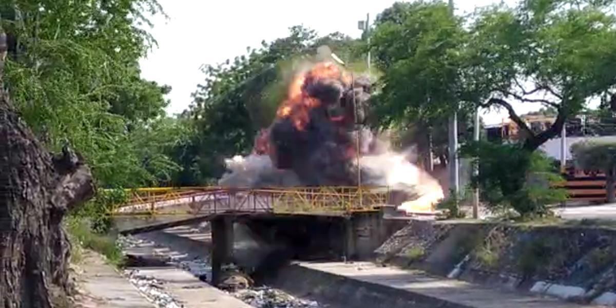 Detonan de manera controlada caja con explosivos en barrio de Cúcuta