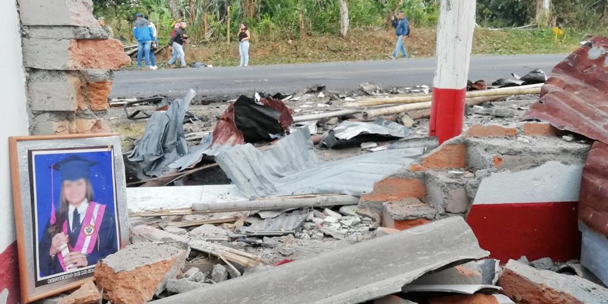 Transporte ilegal de explosivos, sería la causa de explosión en Rosas, Cauca: Fiscalía