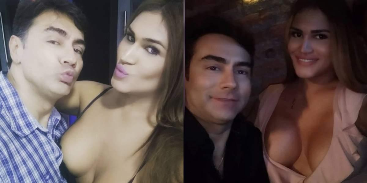 Filtran videos de una ardiente sesión de fotos de la esposa trans de Mauro Urquijo
