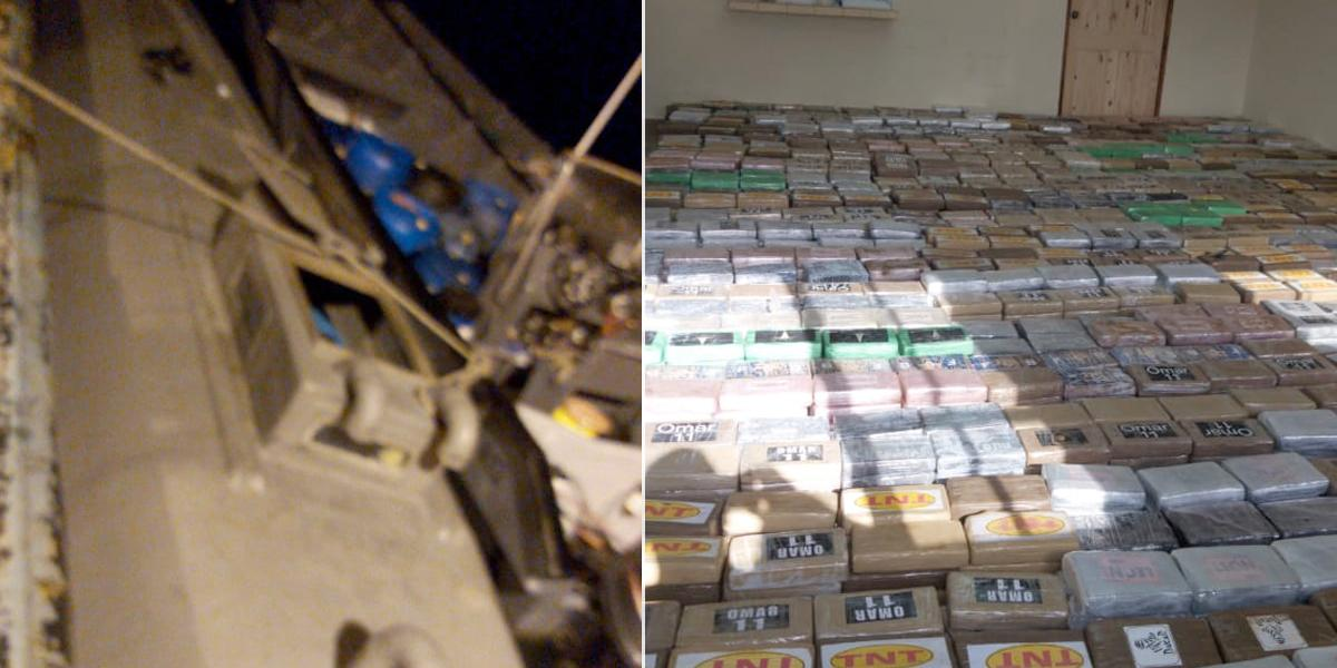 Decomisan cinco toneladas de droga y detienen a líder de Clan del Golfo en Panamá