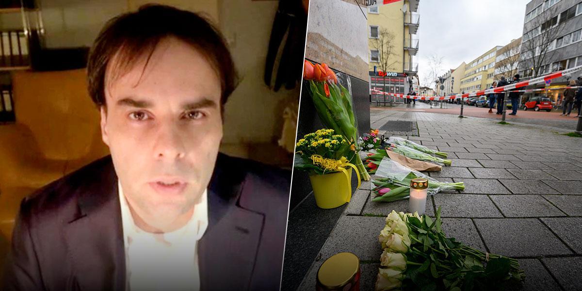 Hallan sin vida al presunto autor de tiroteos  en Hanau, Alemania