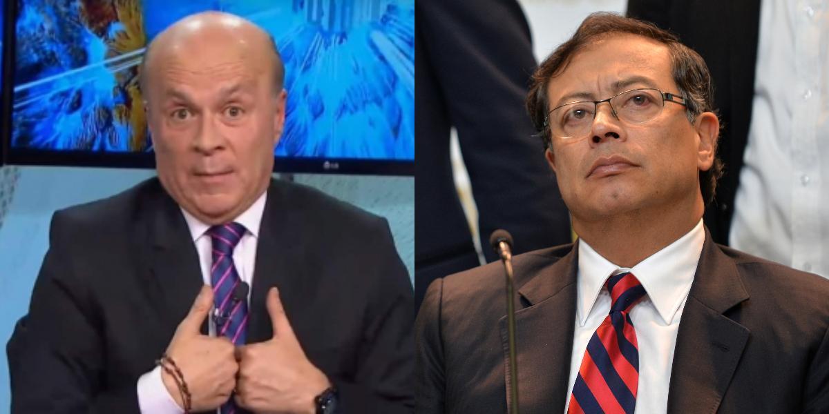 Carlos Antonio Vélez y Gustavo Petro