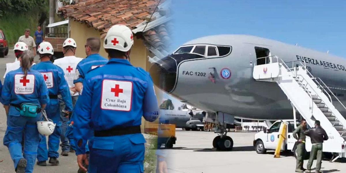 Cruz Roja entrega detalles del protocolo durante vuelo que traerá a colombianos desde Wuhan
